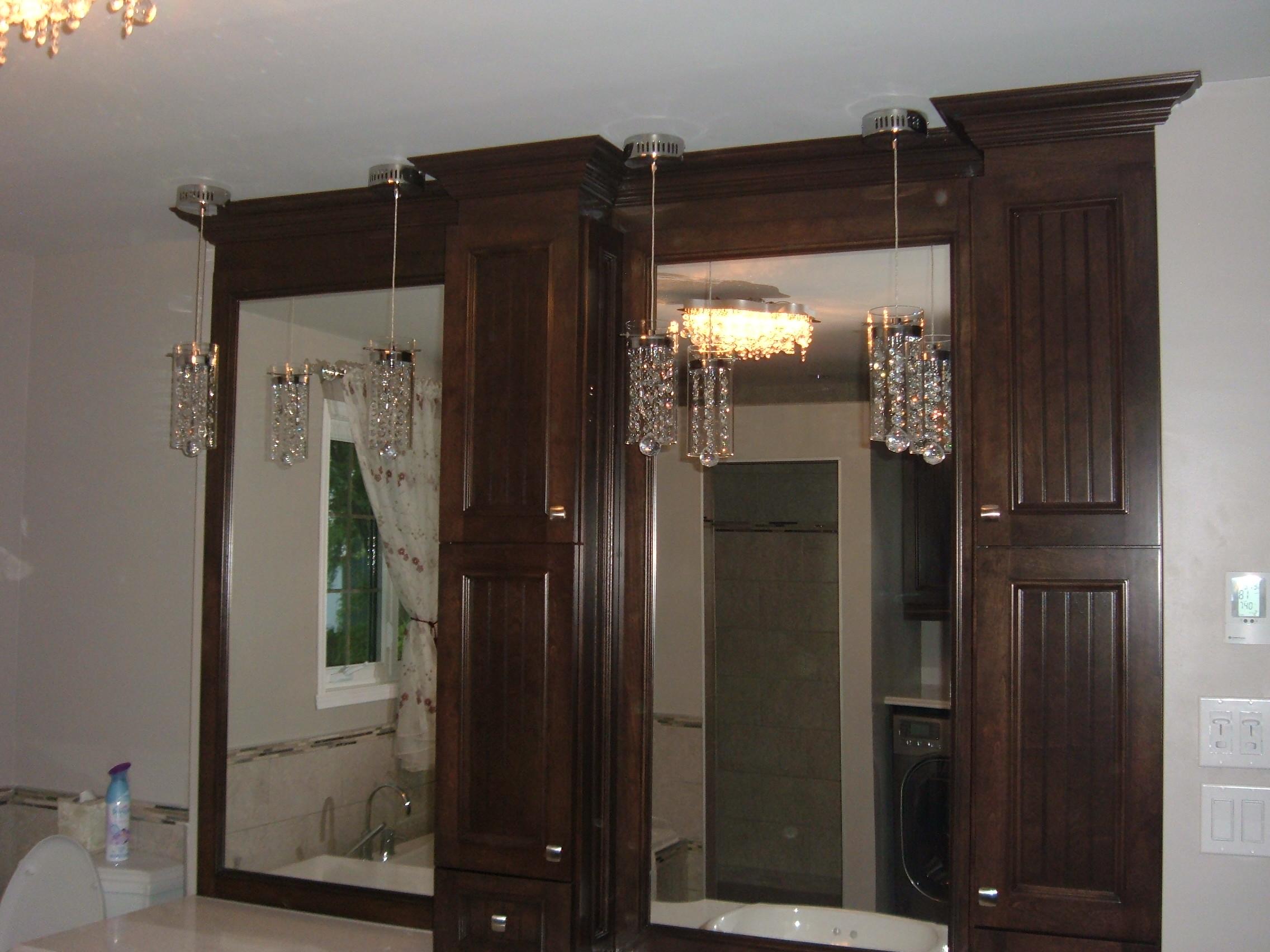 Conception de meubles à Joliette - Ébénisterie René Rivest (armoire de cuisine Joliette)